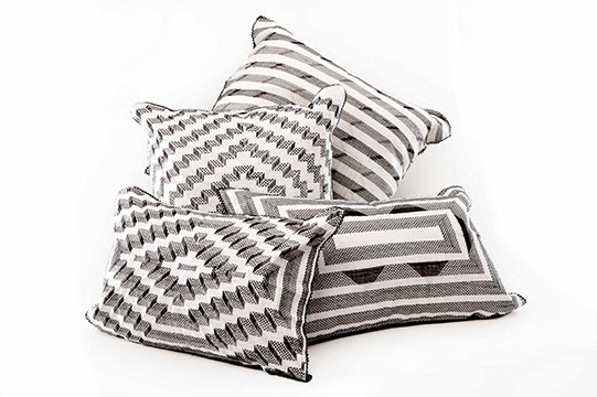 corporate gift, african craft, cushion